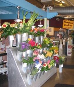 Flower Stand and Bhagya's Kitchen