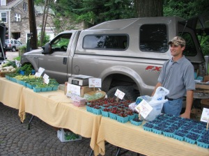Produce and Pastured Beef