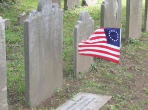 UBG Grave w flag 4th of Jul 09 010