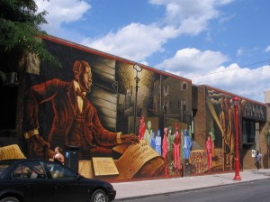 South  St Wall Mural