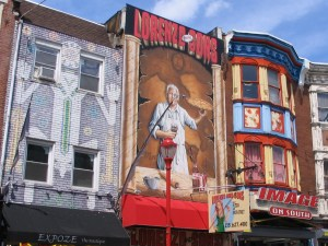 Murals Draw Attention to Shops Below