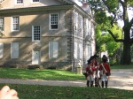 Cliveden during Battle of Germantown Re-inactment